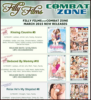Filly Films March 2015 New Releases