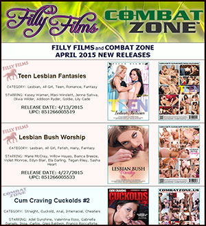 Filly Films April 2015 New Releases