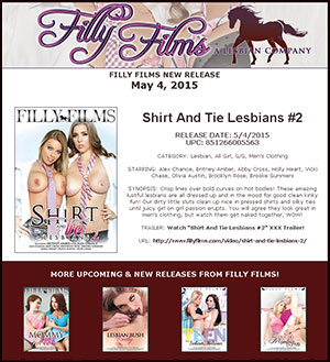 Filly Films presents Shirt And Tie Lesbians #2