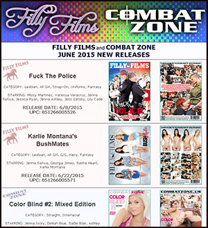 Filly Films June 2015 New Releases
