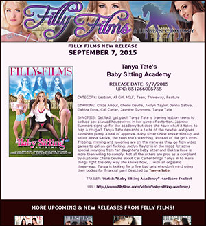 Filly Films presents Baby Sitting Academy