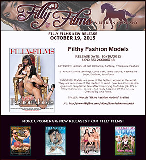 Filly Films presents Filthy Fashion Models