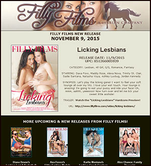 Filly Films presents Licking Lesbians
