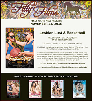 Filly Films presents Lesbian Lust And Basketball