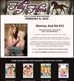 Filly Films presents Mommy And Me #12