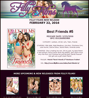 Filly Films presents Best Friends #5
