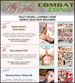 Filly Films March 2016 New Releases