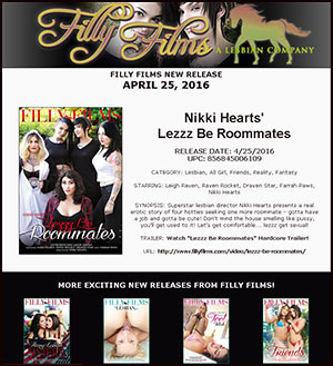Filly Films presents Lezzz Be Roommates