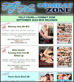 Filly Films September 2016 New Releases