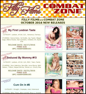 Filly Films October 2016 New Releases