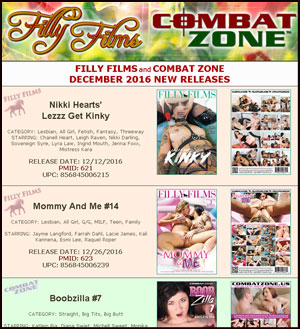 Filly Films December 2016 New Releases