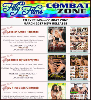 Filly Films March 2017 New Releases