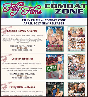 Filly Films April 2017 New Releases