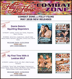Filly Films May 2018 New Releases